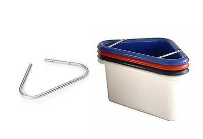 Perfect For Your Horse Feed Various Colours Available. Corner Manger