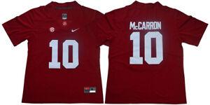 A.J. McCarron Jersey 10 Alabama Crimson Tide Stitched College ...