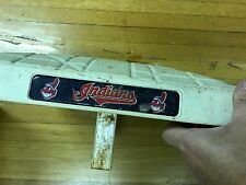 GAME USED CLEVELAND INDIANS BASES FOR SALE - GREAT FOR INDIAN AUTO SESSION