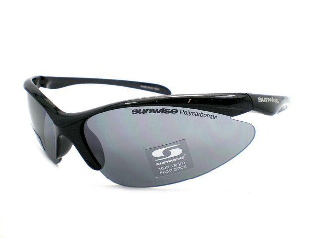 Sunwise 2 1 lentes gafas de Sol deportivas negro Brillante/humo ...