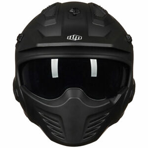 ILM Open Face Motorcycle 3/4 Half Helmet for Moped ATV Cruiser Scooter DOT