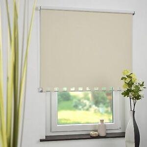 Bevorzugt Seitenzugrollo Volantrollo Rollo mit Volant eckig Vorhang Fenster BN06