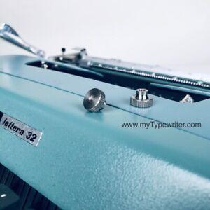 Set of 2 Spool Nuts Olivetti Underwood Typewriter Lettera 22 32 & Studio 44 45