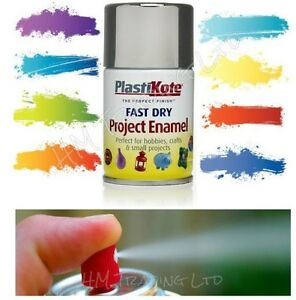 PLASTI-KOTE-FAST-DRY-ENAMEL-SPRAY-PAINT-CAN-AEROSOL-IN-27-DIFFERENT-COLOUR-100ML
