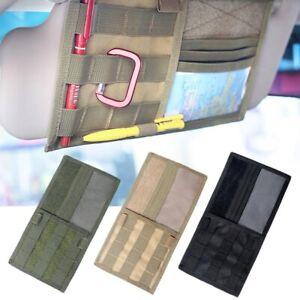 Four-level pockets Car Sun Visor Organizer Storage Bag Holder CD Case Card Pocket Pouch