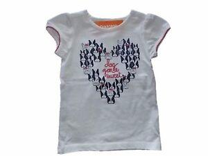 NWT Girl/'s Gymboree Hop n/' Roll heart blue short sleeve shirt 18-24 months 2T 5T