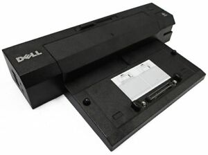 Dell-pro2x-Ordinateur-Portable-Docking-Station-Port-Replicator-E-Port-Plus-with-USB-3-0-used