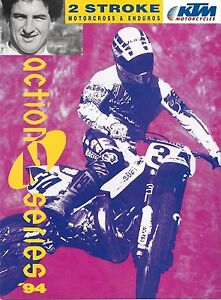 Amical Prospectus Ktm Gamme 1994 2t Motocross Et Enduro