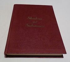 SHADOWS AND SUBSTANCE HC/1961 Signed by Wilbur A. Sweet Poetry Books Fiction - V