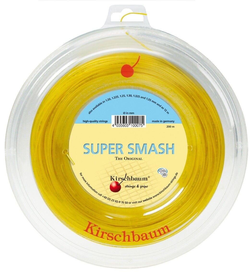 Kirschbaum Super Smash 1,275 mm 200 m - Tennissaiten