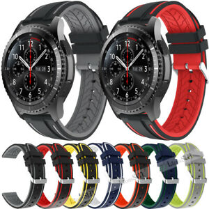 22MM-Silicone-Sport-Band-for-Samsung-Galaxy-Watch-46mm-Gear-S3-Strap-Bracelet