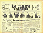 Le CANARD ENCHAINE numero 2113 du 19 avril 1961