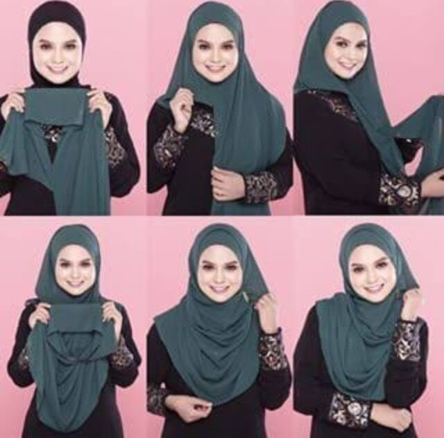 Maxi Size Semi-Instant Jersey Hijab High Quality Stretchy Cotton Scarf