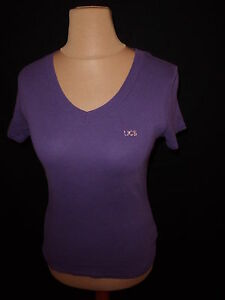 T-shirt-Benetton-Violet-Taille-M-a-69