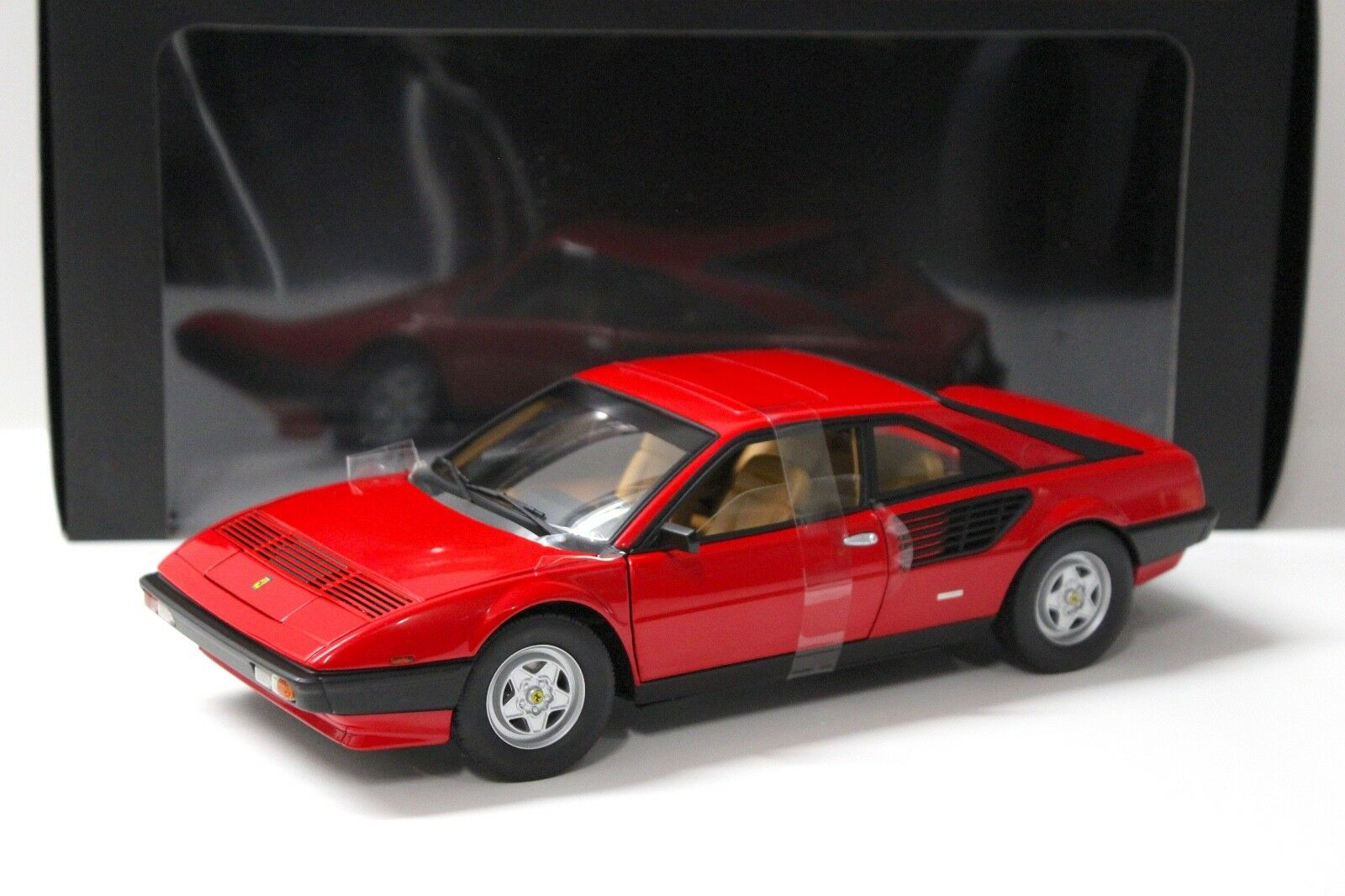 1 18 Hot Wheels Elite Ferrari Mondial 8 rouge New chez Premium-modelcars