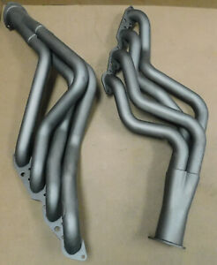 Hooker-L2455-Competition-BB-Chevy-Headers-2-034-primary-3-1-2-034-collector-Painted