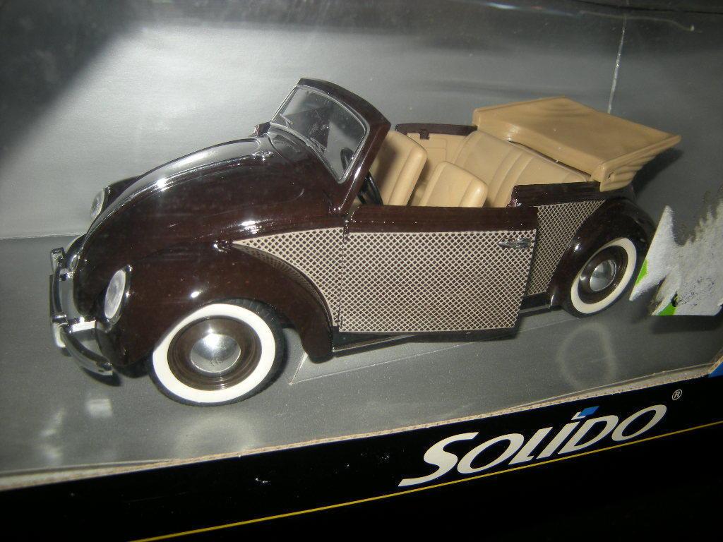 1 18 Solido VW Beetle Cabriolet dans neuf dans sa boîte