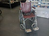 Everest Jennings Maroon Wheel Chair Winnipeg Manitoba Preview