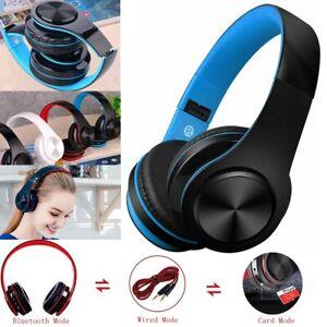 Wireless-Bluetooth-Headphones-Foldable-Stereo-Super-Bass-Headset-W-Mic-3-5mm-K