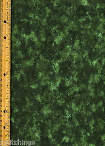 Moda Marble Quilt Fabric Green By The Yard