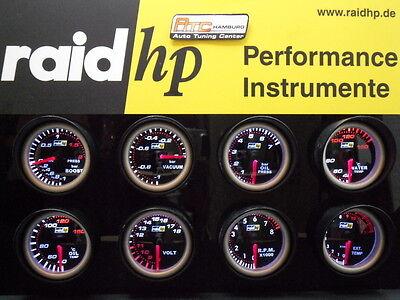Raid Nightflight Zusatzinstrument freie Wahl Universal Öltemperatur,Öldruck,Volt