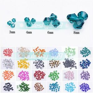 Wholesale-3mm-4mm-6mm-8mm-Bicone-Faceted-5301-Crystal-Glass-Loose-Spacer-Beads