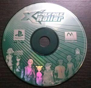 X-039-TREME-ROLLER-JEU-Sony-PLAYSTATION-PS1-PS2-loose-envoi-suivi
