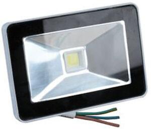 Willensstark 1x 10w Slim Line Sicherheit Hochleistung Led Flutlicht Ip65 Wasserdicht Für Delikatessen Von Allen Geliebt Beleuchtung