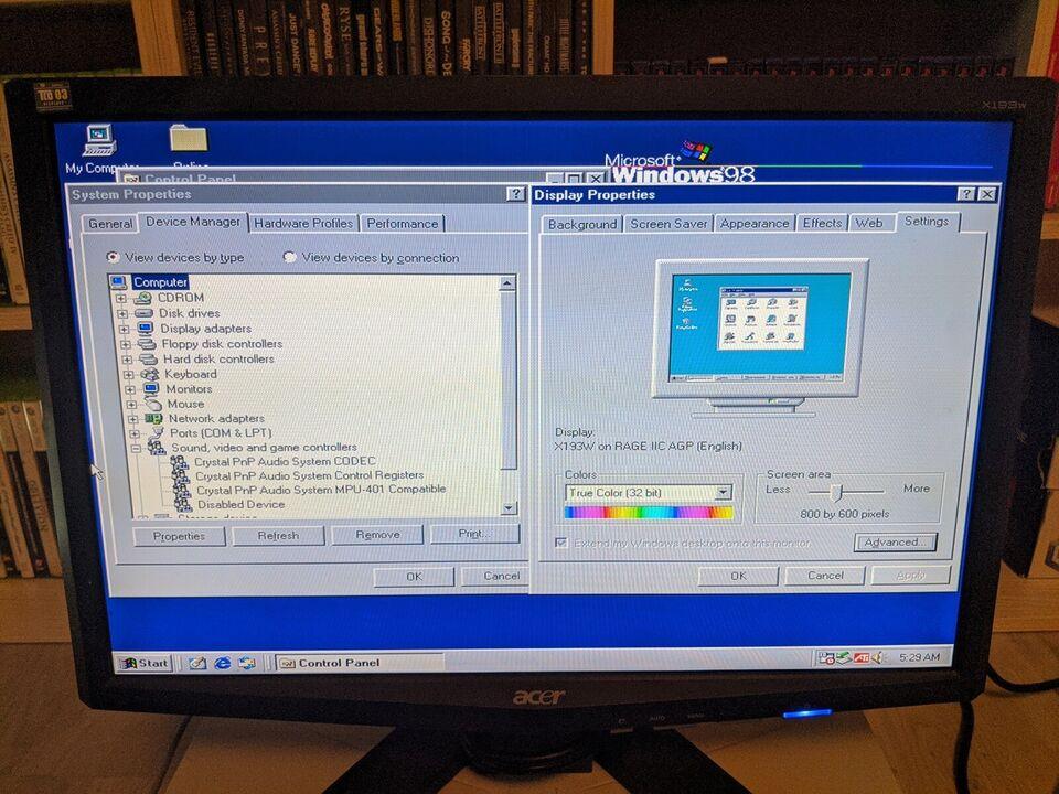 Dell, DELL Optiplex E1 Retro PC, 0,333 Ghz