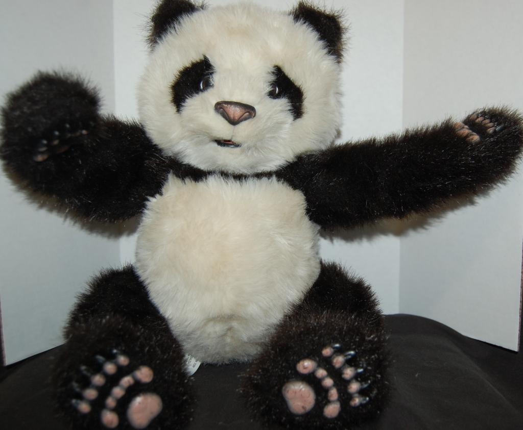 Furreal Giant Panda Bär Interaktiv Sprechender Moves Plüsch Hasbro Luv Cubs 16