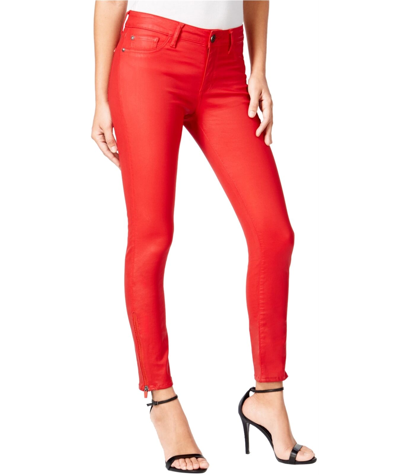 DL1961 Womens Instasculpt Skinny Fit Jeans fuego 27x27