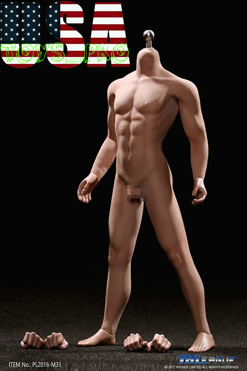 Phicen PL2015-M31 1 6 sans soudure male Narrow Shoulder musculaire Figure bronzée ❶ USA ❶