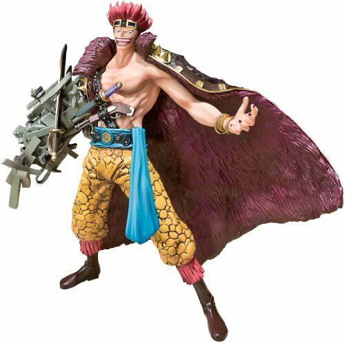 One Piece Bandai Figuarts ZERO 6 Inch Action Figure Captain Eustass Kid