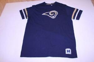 Men s Los Angeles Rams L T-Shirt Tee (Navy Blue) NFL Team Apparel  09f0602c8