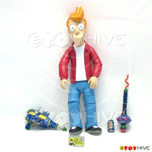 Futurama Phillip J. Fry 2007 - loose collectible figure made by Toynami