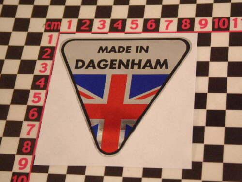 Made in Dagenham Chrome Autocollant-FORD CORTINA ZEPHYR CONSUL Zodiac pilote Capri