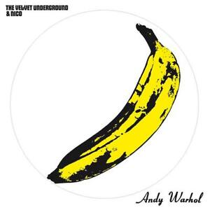THE VELVET UNDERGROUND & NICO PICTURE DISC 180-GR LP ITALY IMPORT ANDY WARHOL