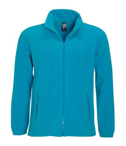 SOL/'S North Fleece Jacket Zip Work Warm Outdoors Mens Hiking gsm Full 300