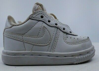 NIKE Air Force 1 Low White Leather Lace