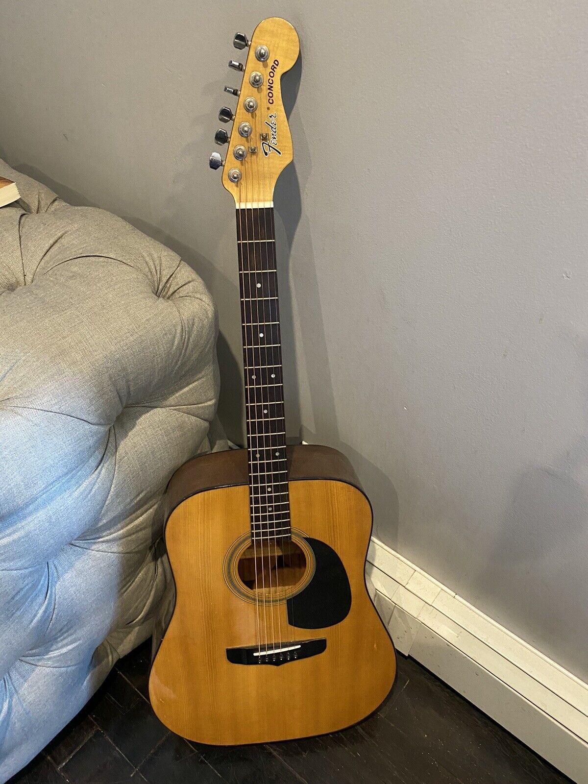 s l1600 - fender concord acoustic guitar