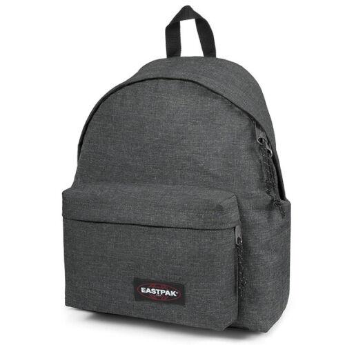 Eastpak Padded Pak/'R Rucksack black denim Schule Sport Freizeit Tasche EK62077H
