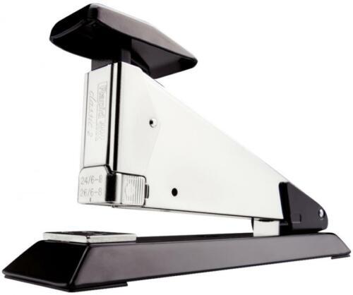 schwarz Rapid Heftgerät Hefter Tacker Classic K2 aus Stahl