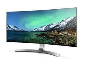 LG 34UC98 Ultra Wide Curved Gaming Monitor AH-IPS 34