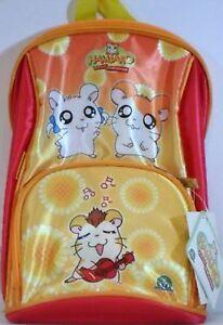 Abbigliamento e accessori 22 X 22 CON PELUCHE ESTRAIBILE 13 CM Bambini 2 - 16 anni HAMTARO-ZAINETTO GIOCHI PREZIOSI MISURA CM