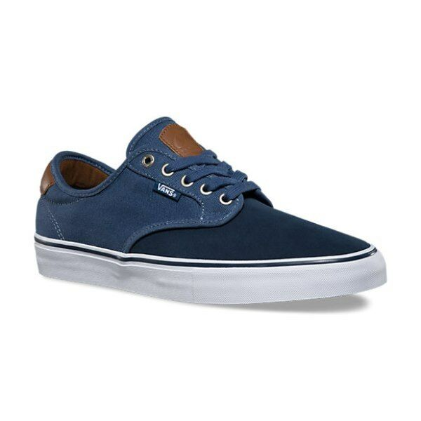 434c6d9b6899 VANS Mens 7.5 Womens 9 Chima Ferguson Pro Two Tone Dress Blues Ensign Blue  Shoes for sale online