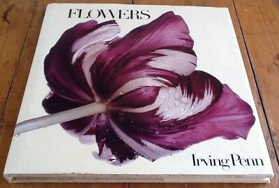 Flowers by Irving Penn 1980 1st English Edition Jonathan Cape