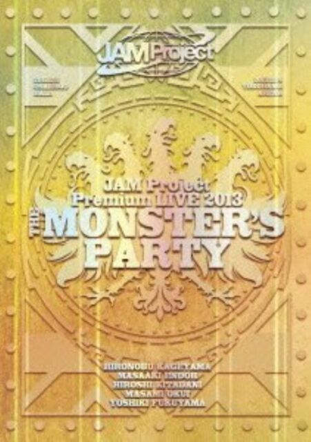 JAM PROJECT-PREMIUM LIVE 2013 THE MONSTER'S PARTY DVD-JAPAN 2DVD+CD R75