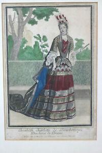 Kupferstich-Elisabeth-Charlotte-de-Bourbon-Duchesse-de-Loraine