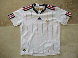 Détails sur Maillot EQUIPE de FRANCE vintage ADIDAS World Cup 2010 away shirt trikot 10 ans