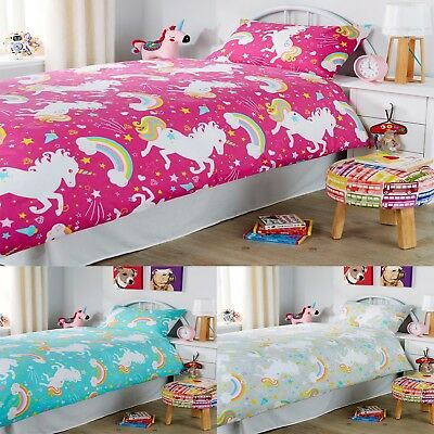 Unicorn Luxury Duvet Quilt Cover Sets Reversible Bedding Set by Olivia Rocco